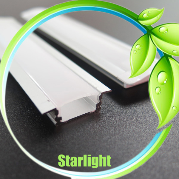 Led recessed aluminum profile for led strips
