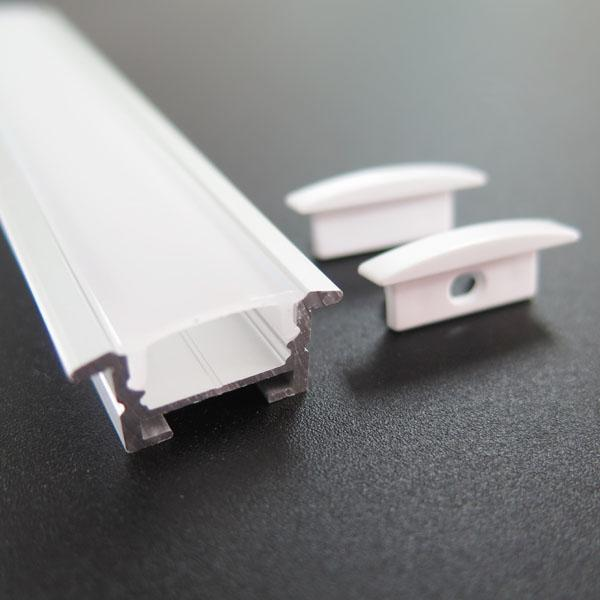 Aluminum led recessed profile
