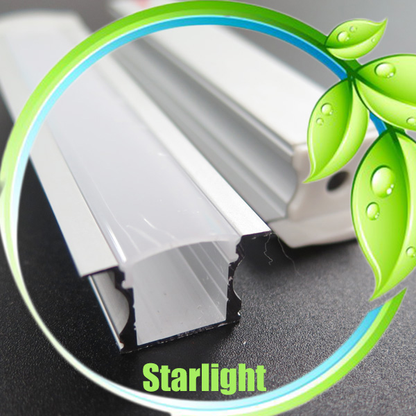 Led profile aluminum extrustion for led recessed light