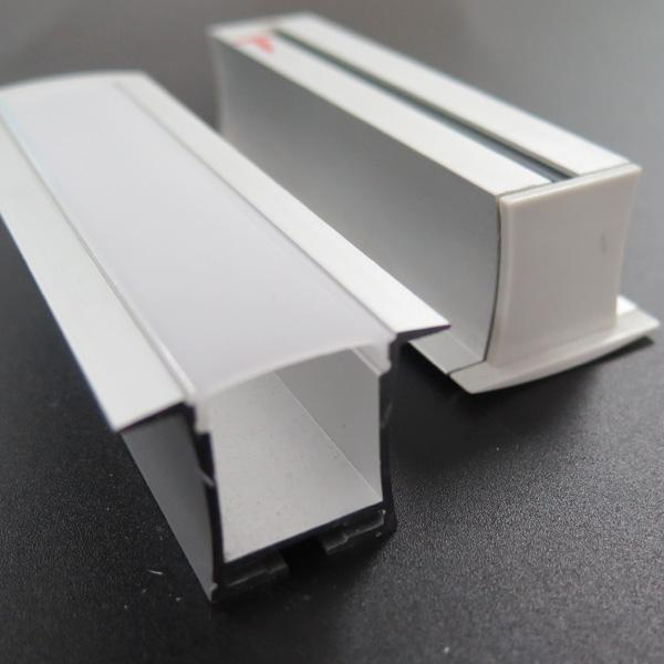 Led profile aluminum extrustion for led recessed light - 副本