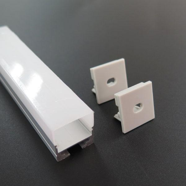 Square Led Channel for Led Light Bar