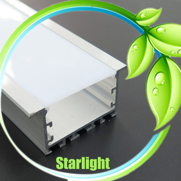 Led recessed extrusion aluminum profile